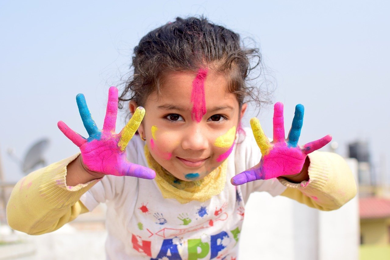 Girl having fun after getting help with dyslexia test Simi Valley, Ca by child psychologist 93063