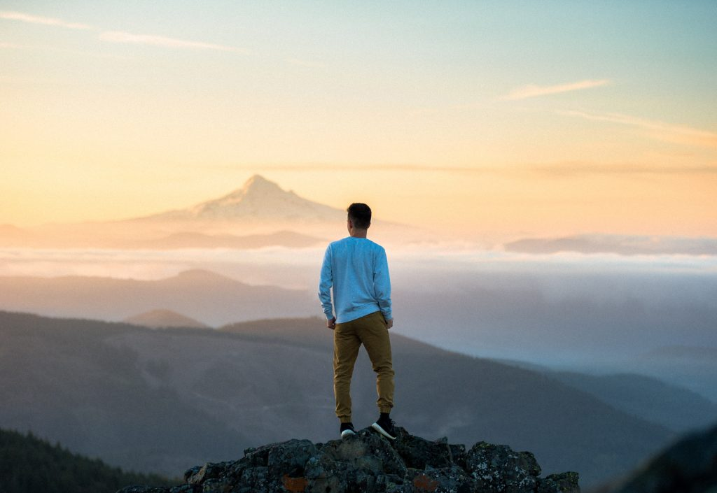 Man looking out at the view in need of help for OCD and anxiety symptoms Thousand Oaks, ca