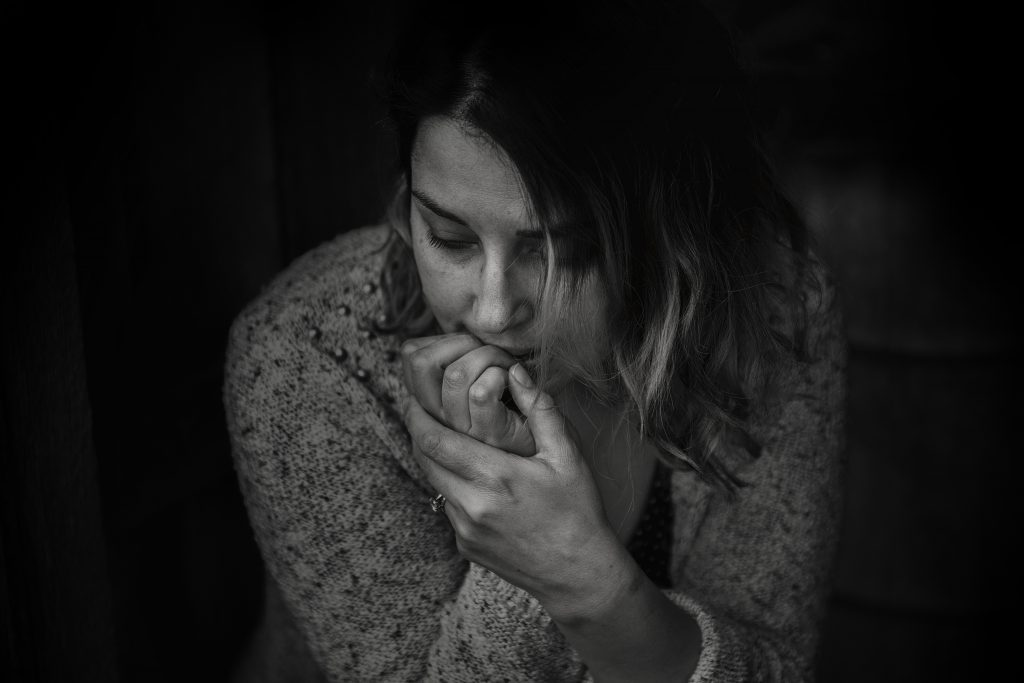 Woman in a sexless marriage is feeling anxious and sad in need of marriage counseling Simi Valley, Ca