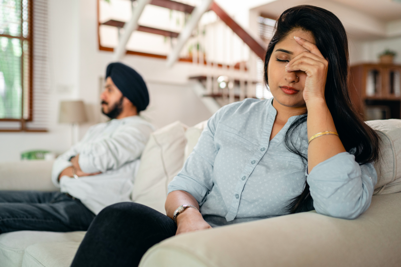 Reconnect after an argument in need of marriage counseling in Simi Valley, Ca