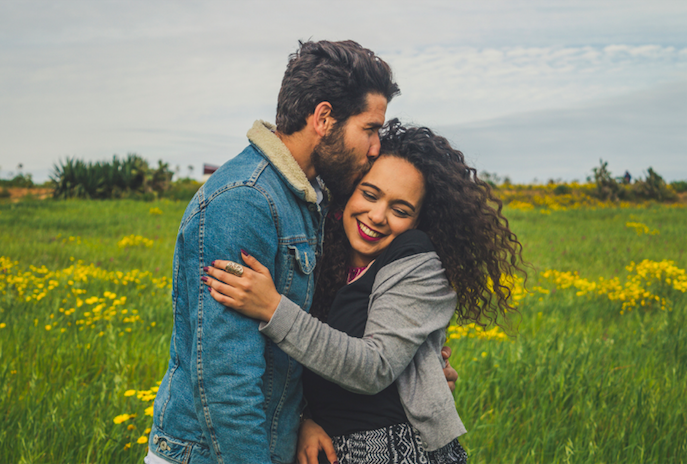 Couple happy with one another during marriage counseling in Simi Valley, Ca