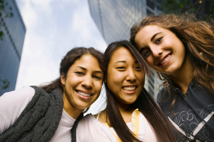 Teens feeling happy after getting help for ADHD, anxiety, and depression help 93063