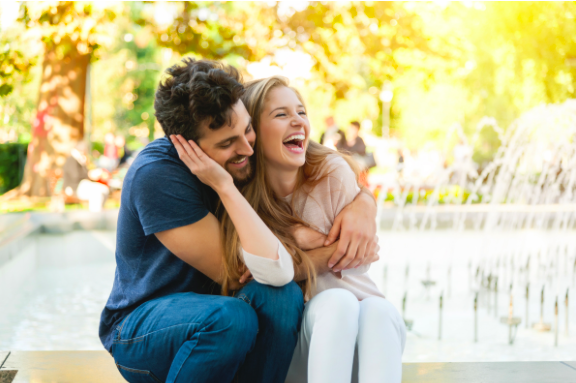 couple very happy together after couples counseling in Thousand Oaks, ca, 91360