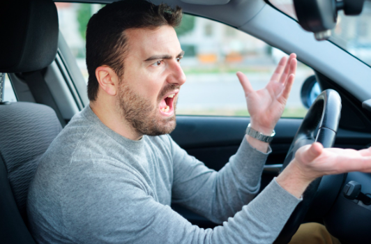 man in road rage treating others poorly realizes he needs anxiety therapy near Thousand Oaks, ca, 91320