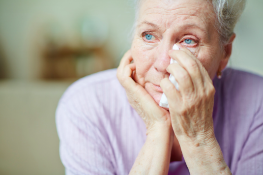 elderly woman feeling depressed and guilty needing in person therapy near Simi Valley, ca, 93065