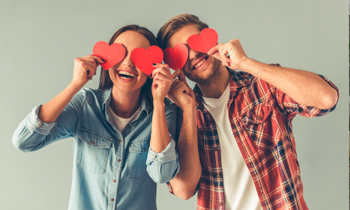 couple happy in love but seeking marriage counseling to improve their marriage with couples therapist in Simi Valley, ca, 93063