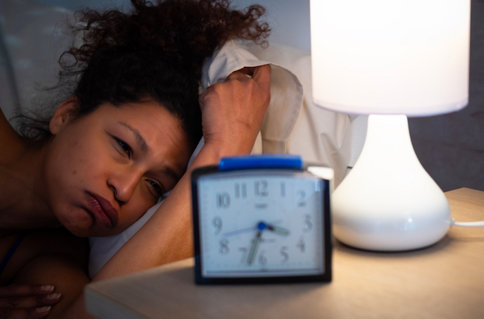 woman cant sleep at night due to anxiety and racing thoughts seeking anxiety counseling online in ventura county, ca 93065